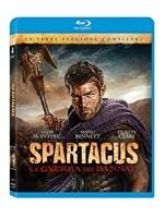 La copertina di Spartacus - La guerra dei dannati - Stagione 3 (blu-ray)
