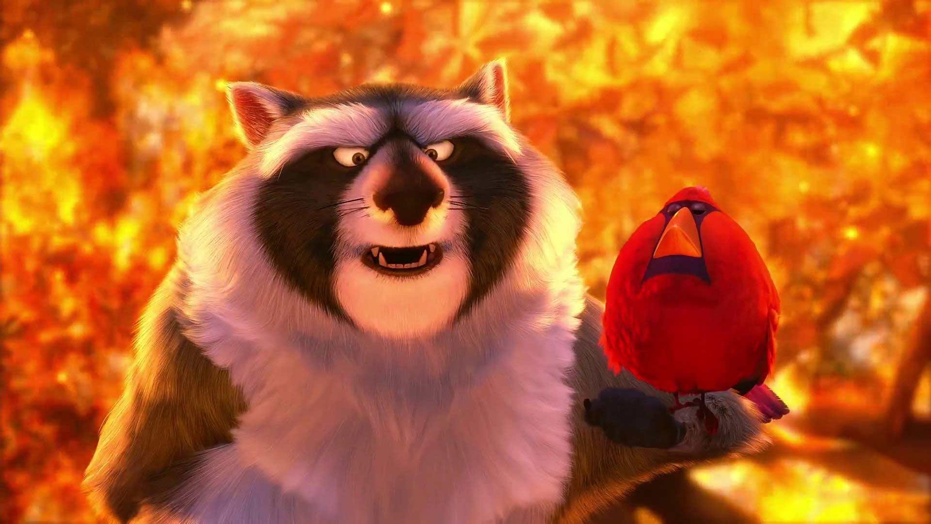 Nut Job - Operazione noccioline: l'orso feroce in una scena del film