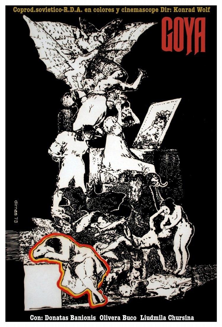 La locandina di Goya - oder Der arge Weg der Erkenntnis