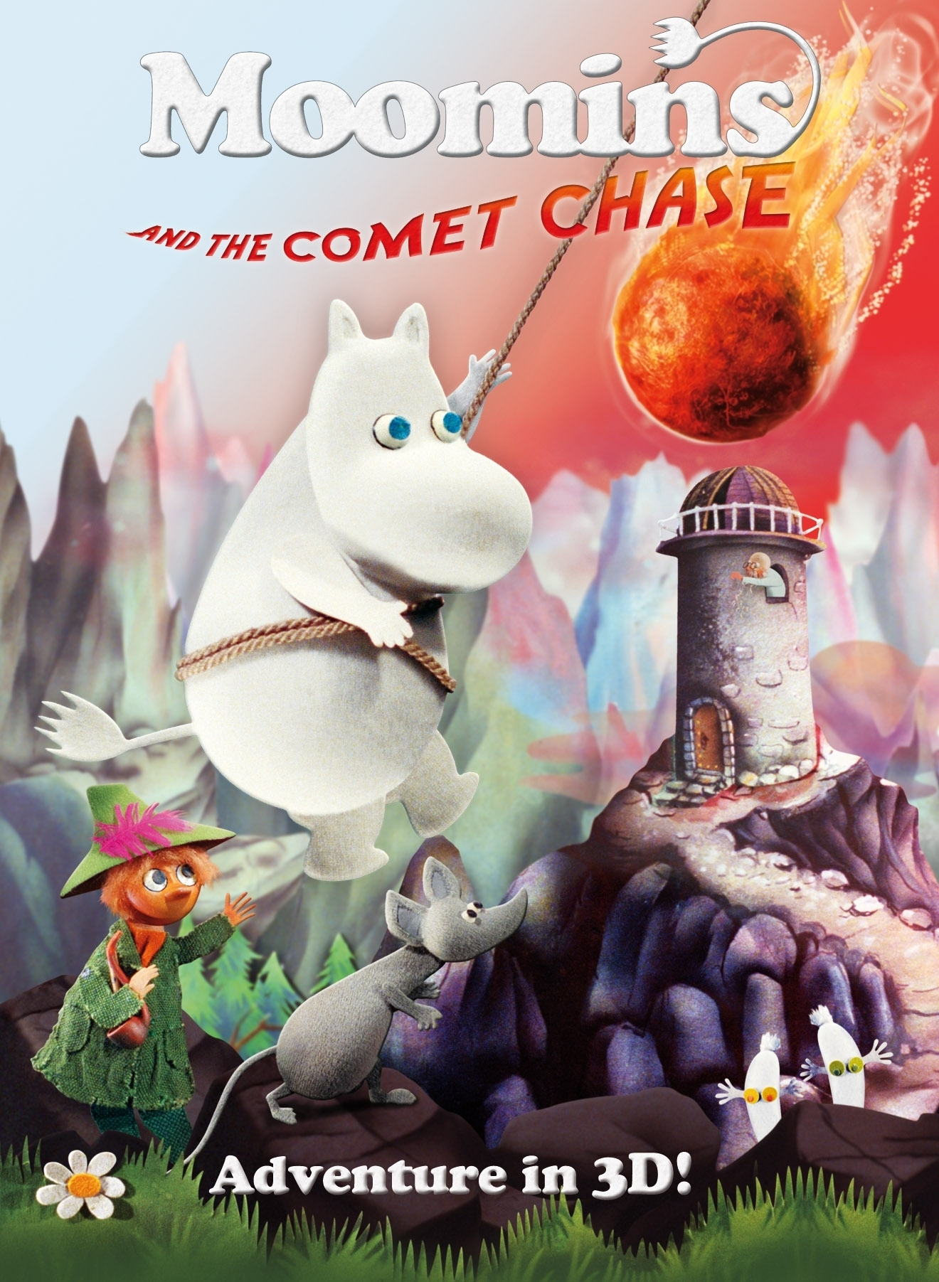 La locandina di Moomins and the Comet Chase