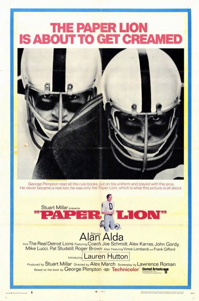 La locandina di Paper Lion