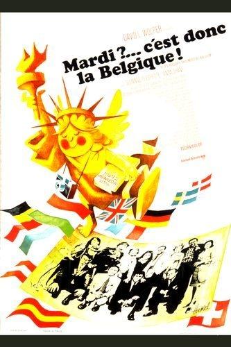 La locandina di Se è martedì deve essere il Belgio