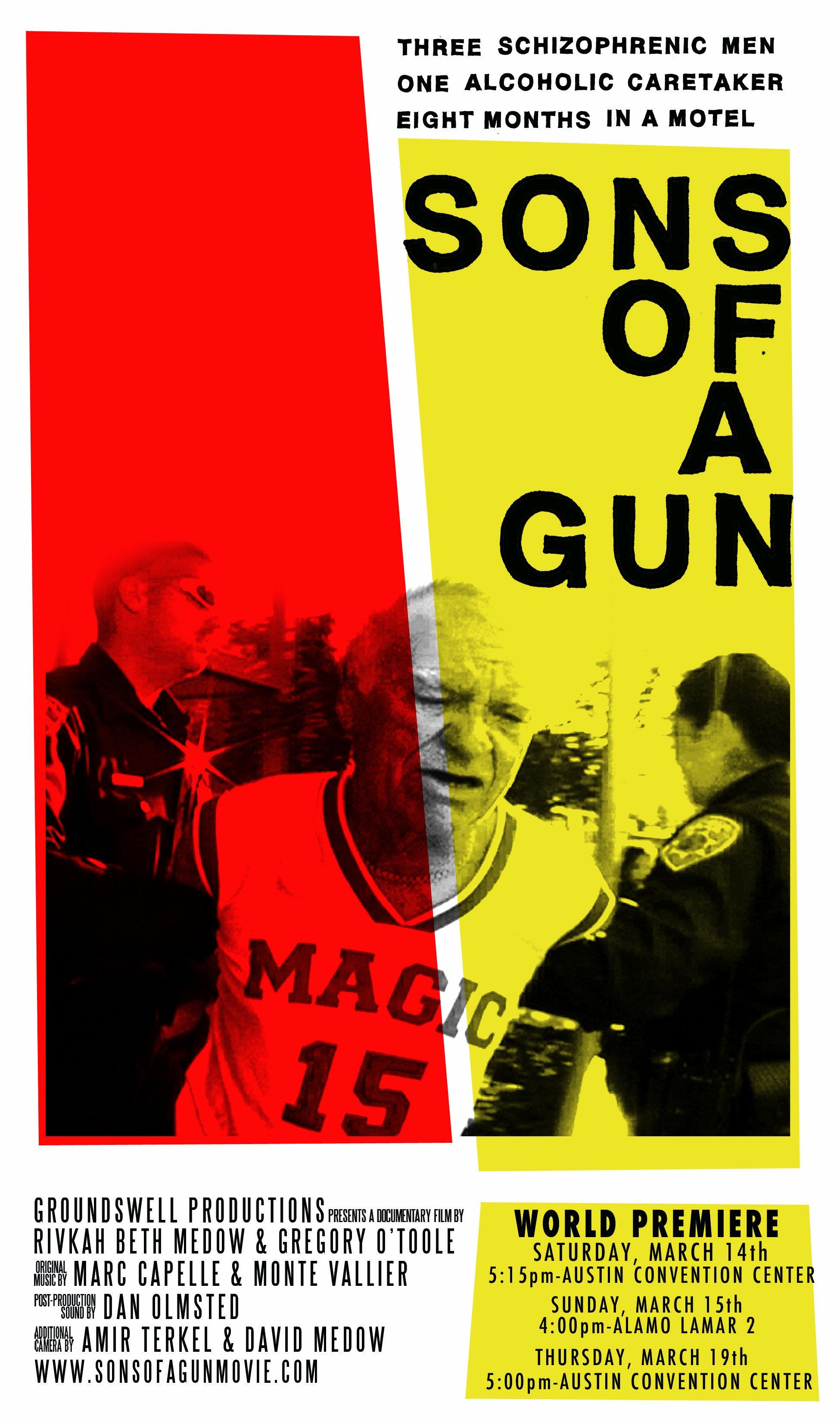 La locandina di Sons of a Gun