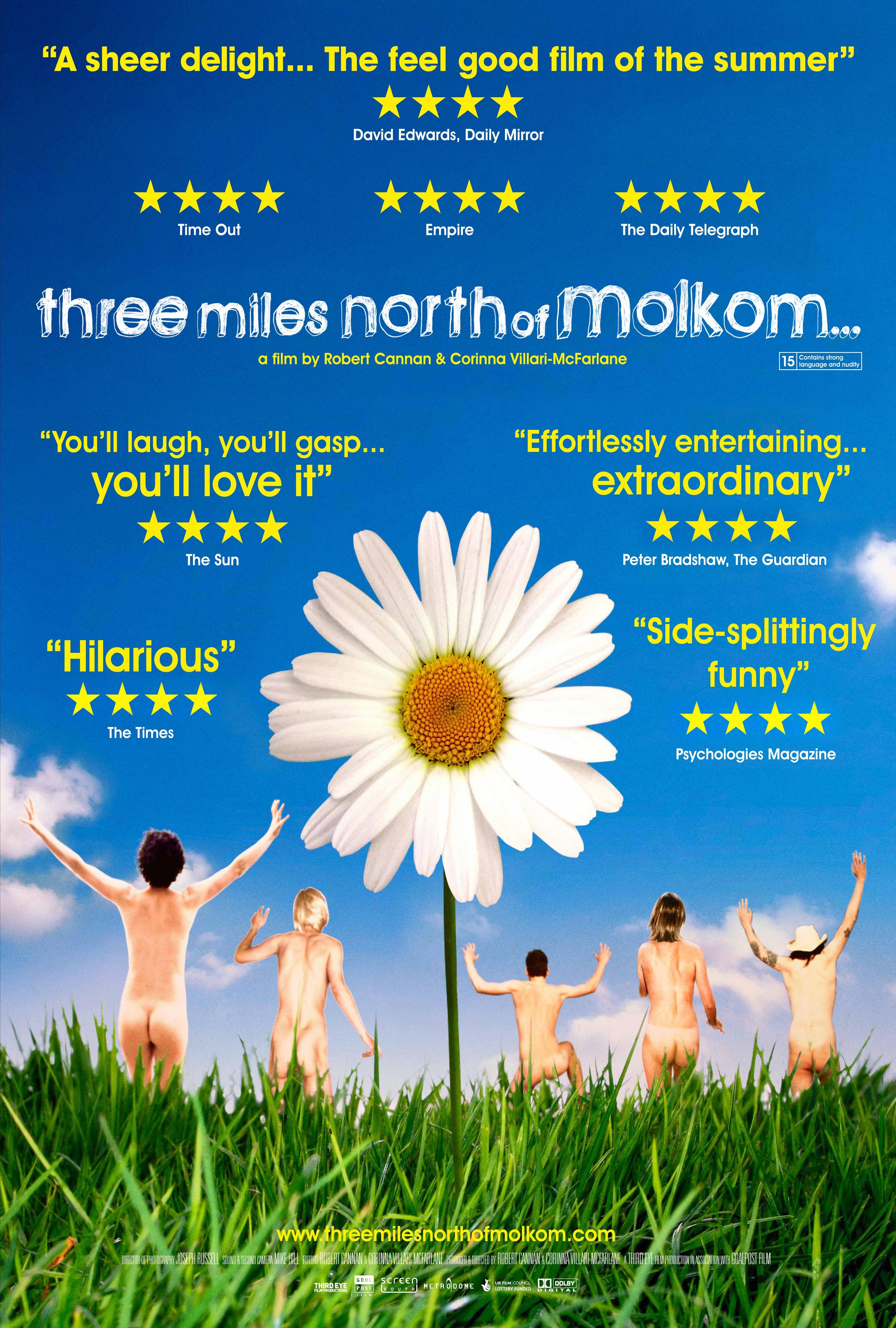 La locandina di Three Miles North of Molkom