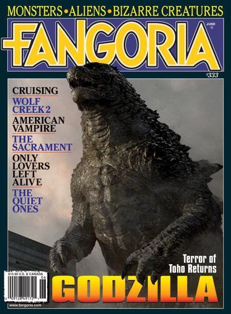 Godzilla: la copertina di Fangoria