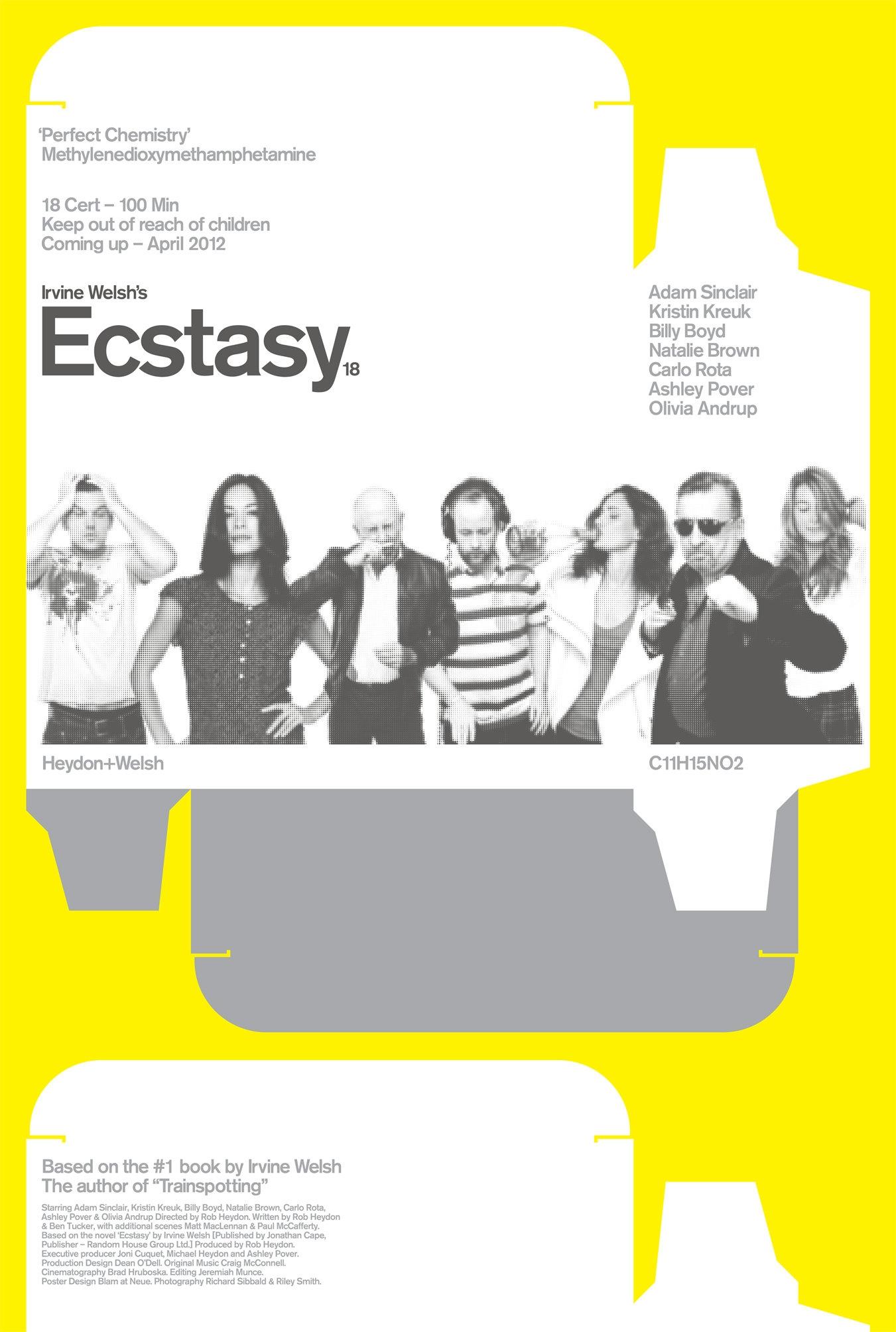 La locandina di Irvine Welsh's Ecstasy