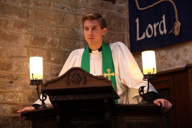 Broadchurch: Arthur Darvill in una scena della serie