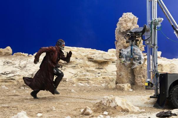 Guardians of the Galaxy: Chris Pratt gira una scena fisicamente impegnativa