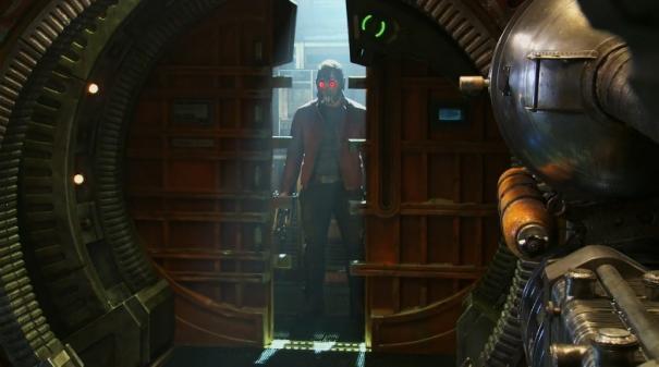 Guardians of the Galaxy: Chris Pratt fa il suo ingresso atraverso la porta