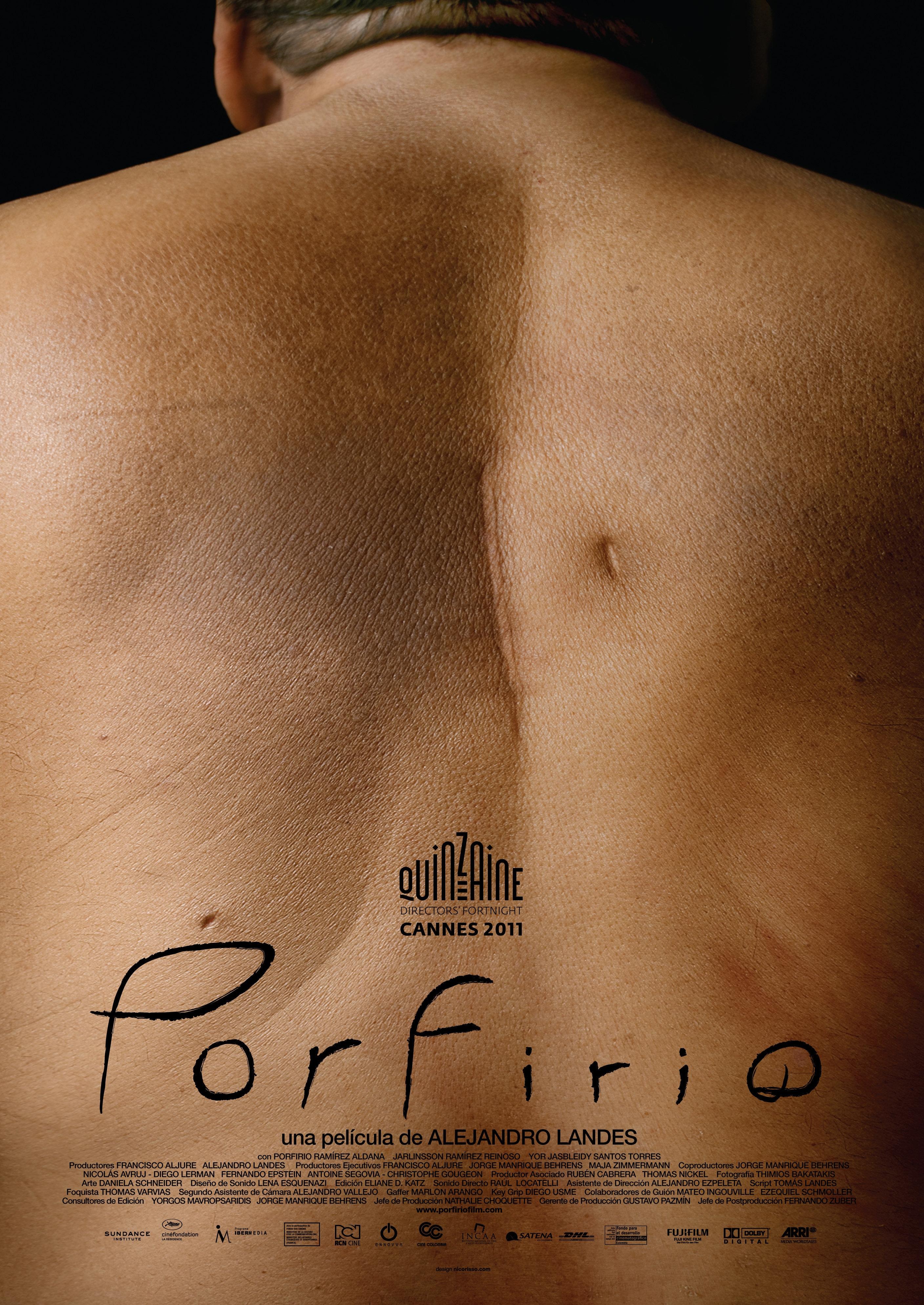 La locandina di Porfirio