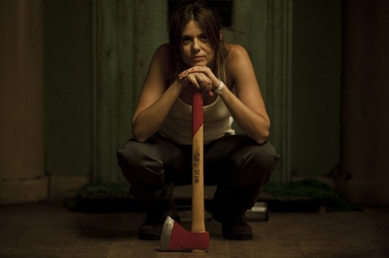 [Rec] 4: Apocalypse - Manuela Velasco armata di ascia