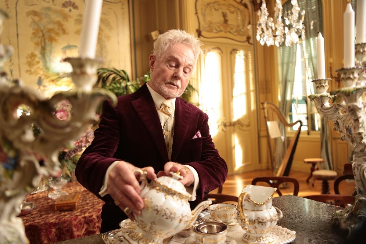 Grace di Monaco: Derek Jacobi in una scena del film nei panni del Conte Fernando D'Aillieres