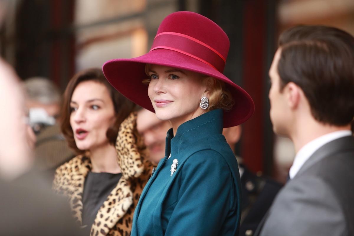 Grace di Monaco: Nicole Kidman è Grace di Monaco in una scena del film