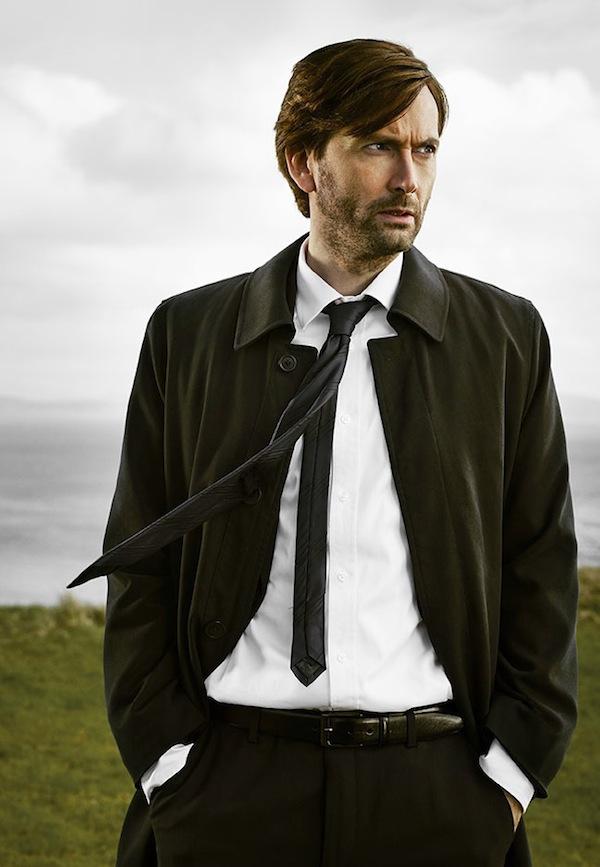 Gracepoint: manifesto per il personagio interpretato da David Tennant