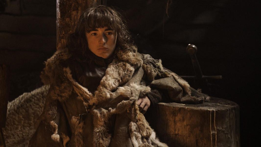 Il trono di spade: Isaac Hempstead-Wright nell'episodio Oathkeeper, quarta stagione