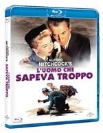 La copertina di L'uomo che sapeva troppo (1956) (blu-ray)