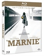 La copertina di Marnie - 50° anniversario (blu-ray)
