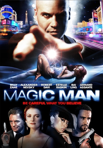 La locandina di Magic Man