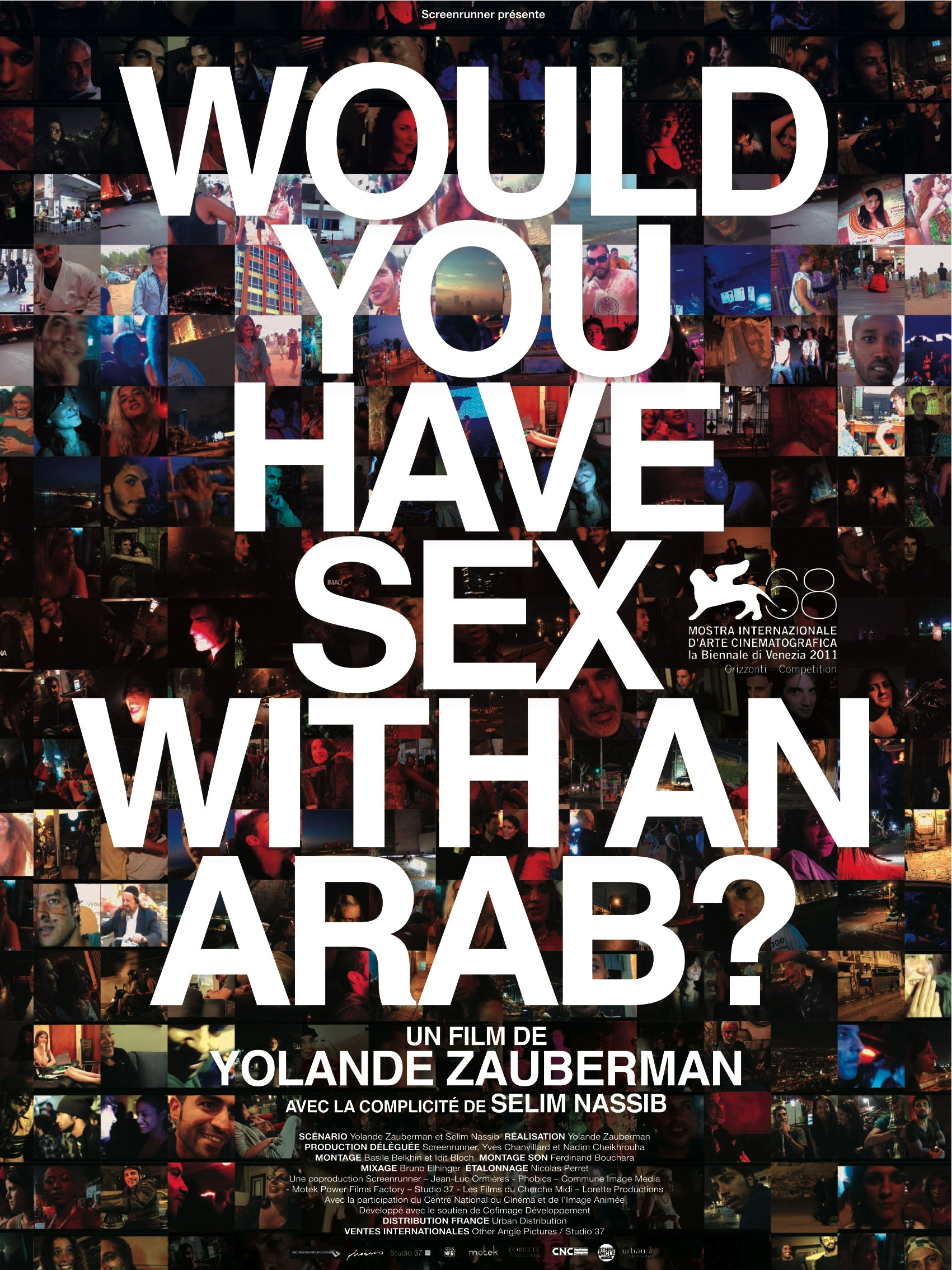 La locandina di Would you have sex with an Arab?
