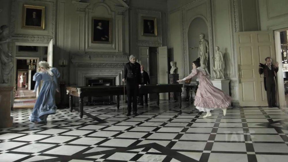 Mr. Turner: Timothy Spall in una scena tratta dal film