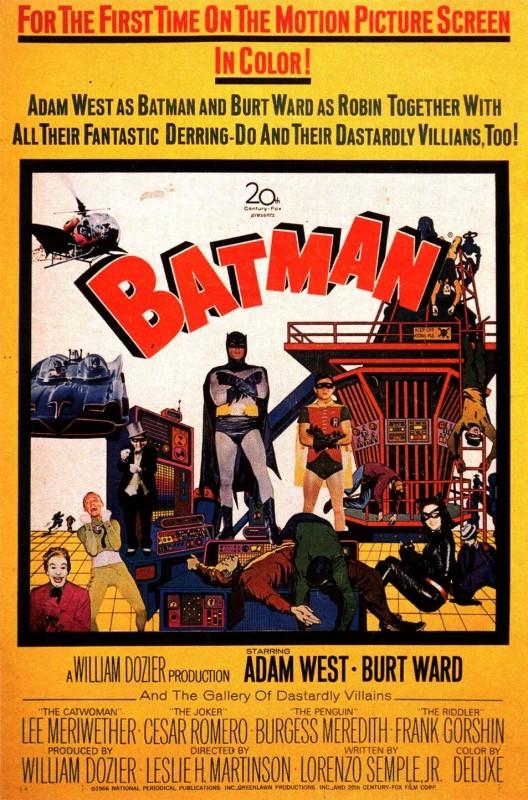 Batman 1966 - Locandina straniera