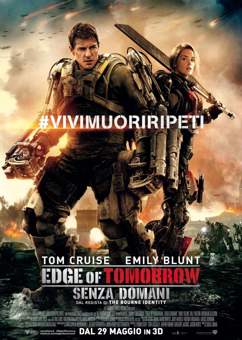 Edge of Tomorrow - Senza domani: la locandina italiana