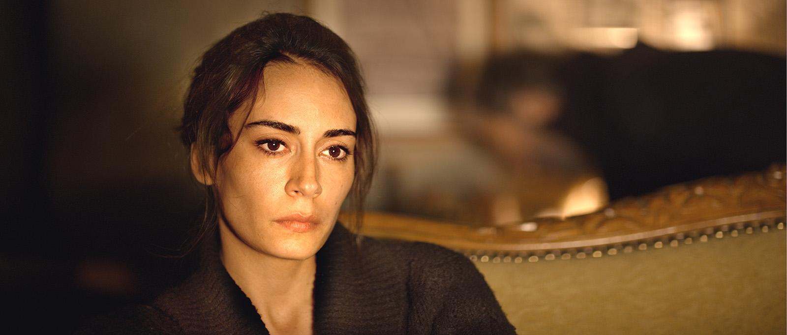 Hibernation: Melisa Sözen in una scena del film