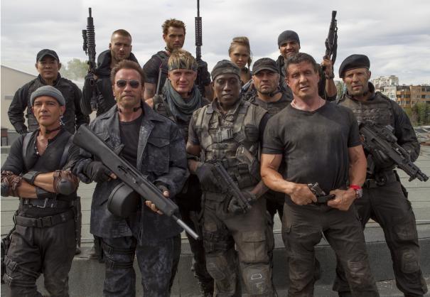 I mercenari 3 - The Expendables: il team dei mercenari al completo