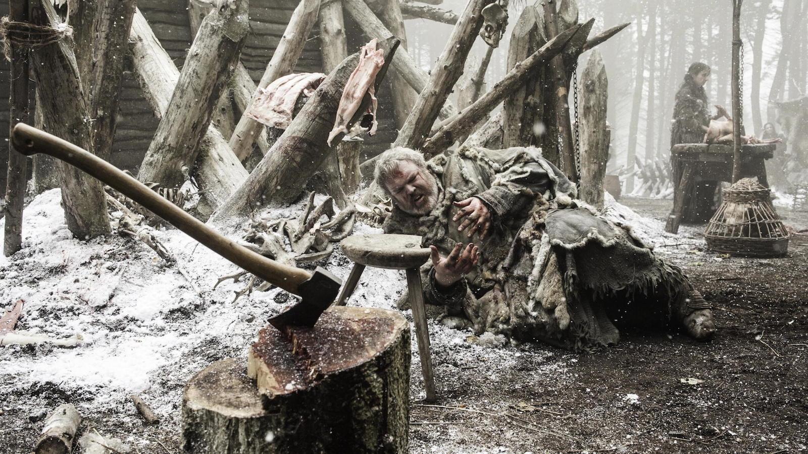 Il trono di spade: Kristian Nairn nell'episodio Oathkeeper, della quarta stagione