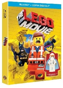 La copertina di The Lego Movie (blu-ray)