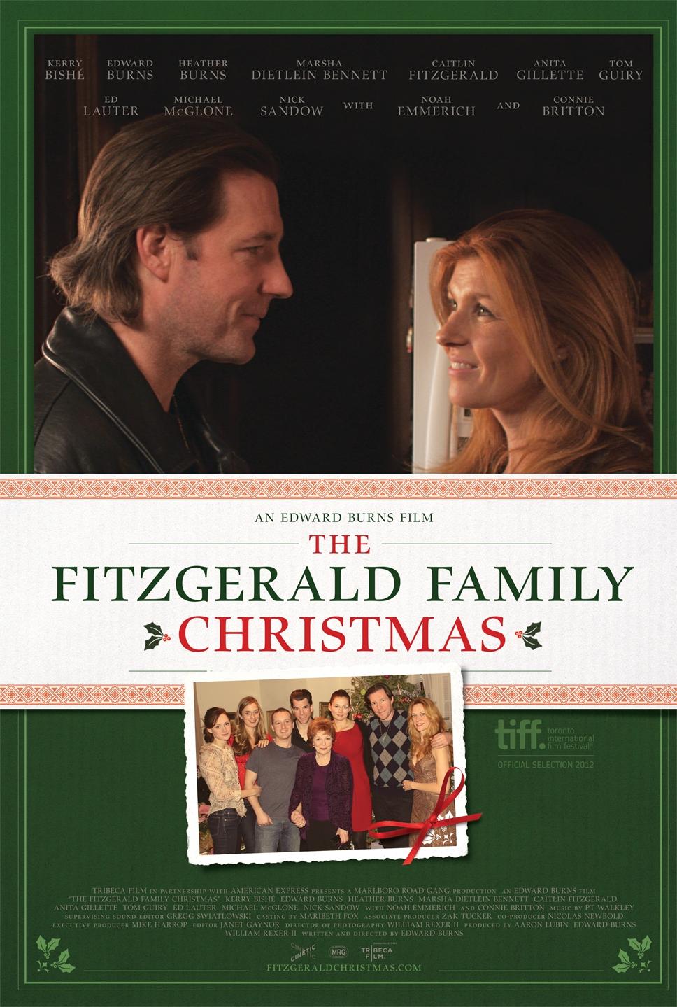 La locandina di Fitzgerald's Family Christmas
