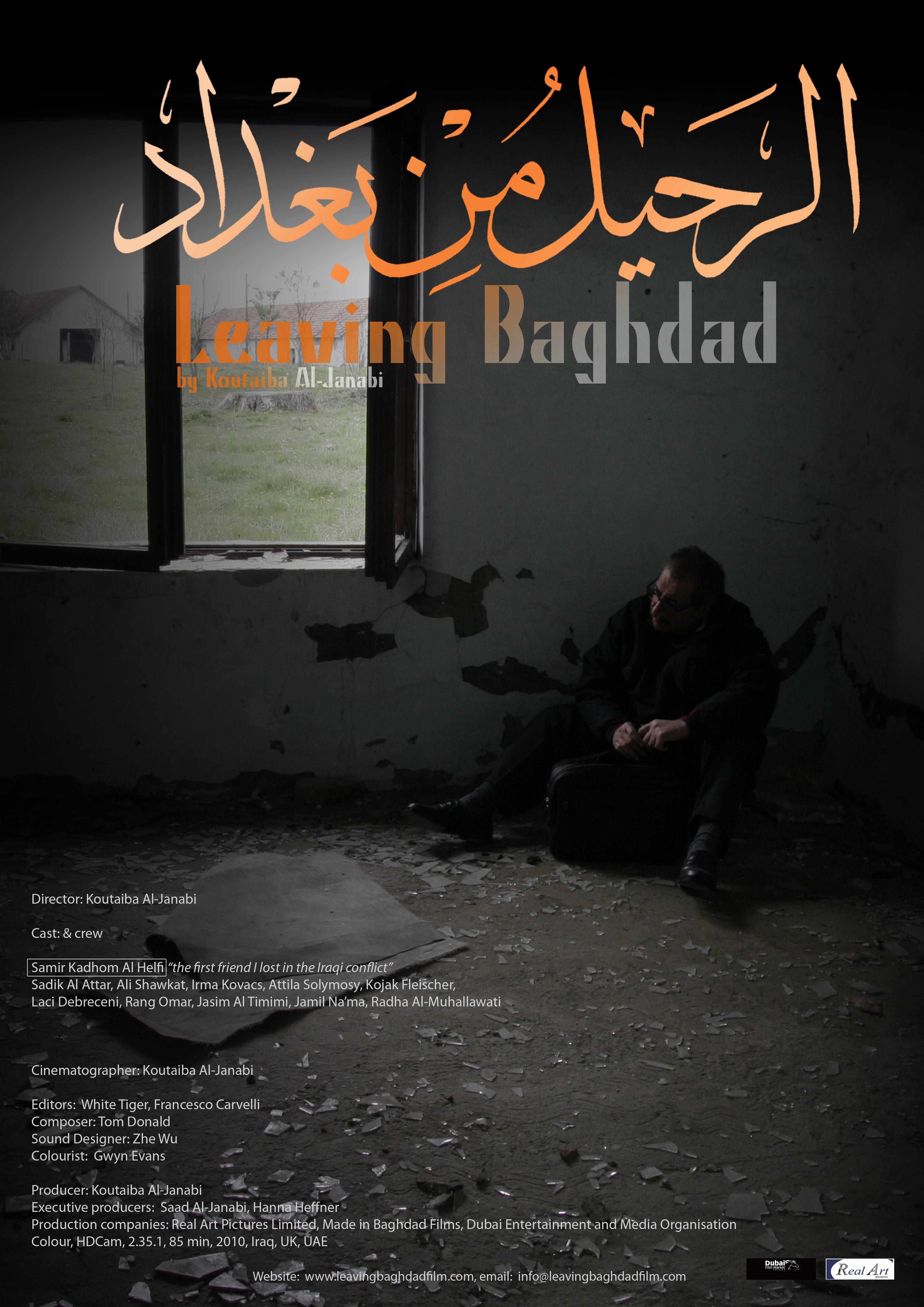La locandina di Leaving Baghdad