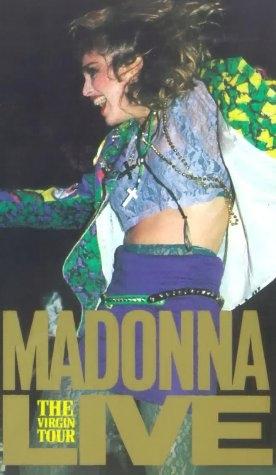 La locandina di Madonna Live: The Virgin Tour