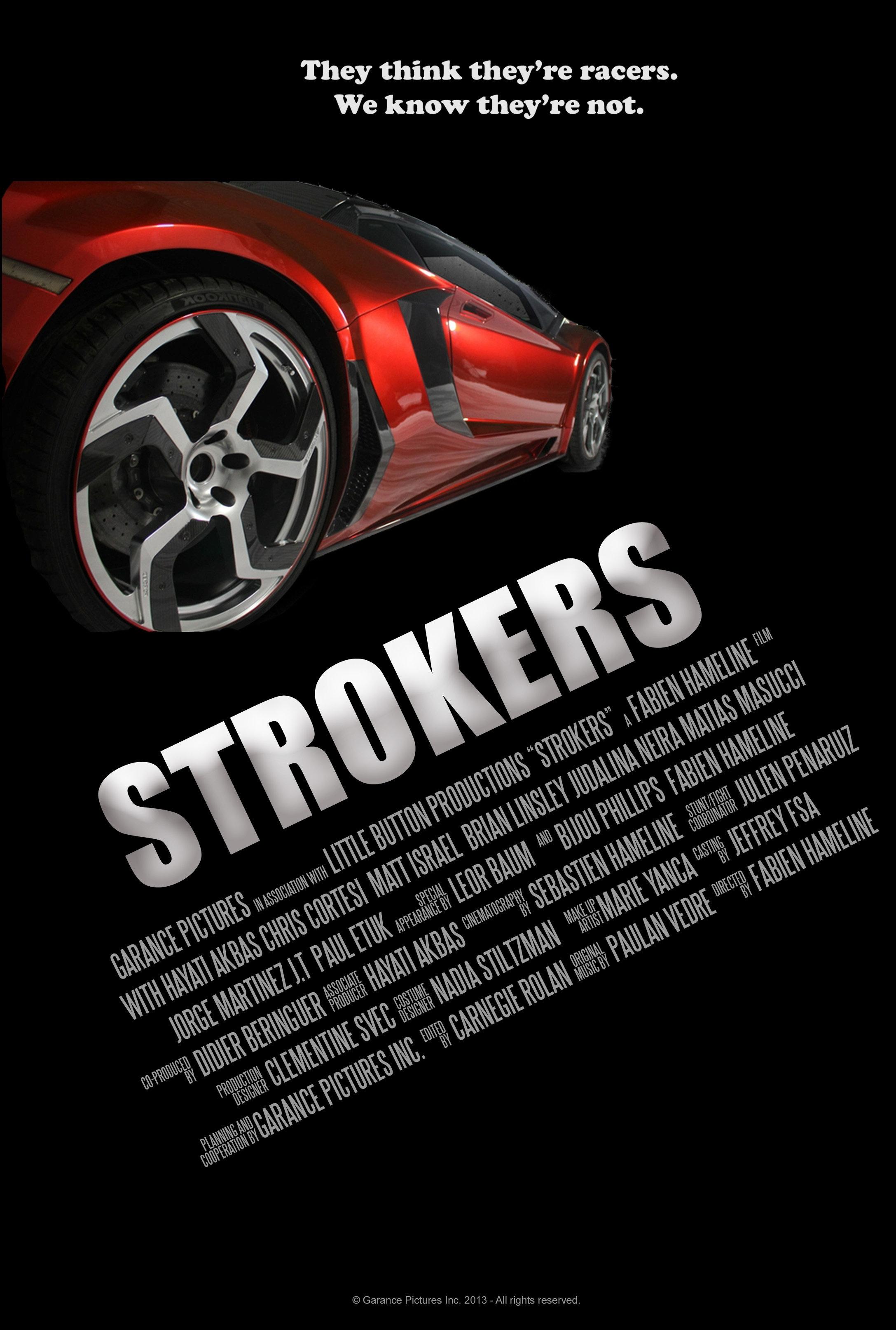 La locandina di Strokers