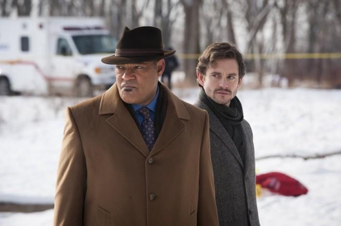 Hannibal: Hugh Dancy e Laurence Fishburne nell'episodio Shiizakana, seconda stagione