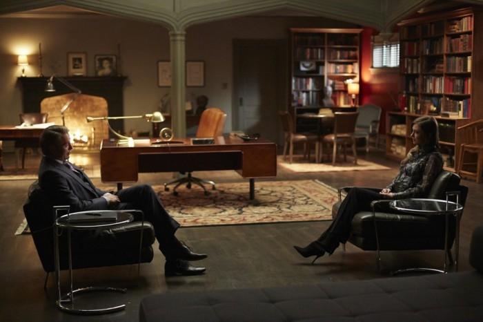 Hannibal: Mads Mikklesen e Katharine Isabelle nell'episodio Shiizakana, seconda stagione