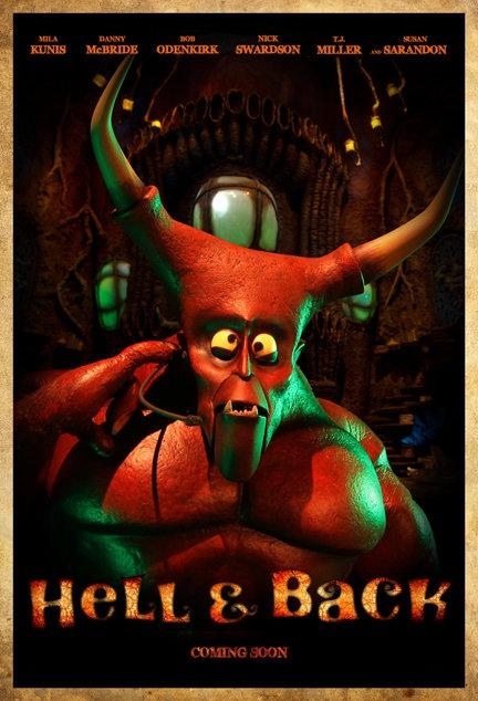 La locandina di Hell & Back