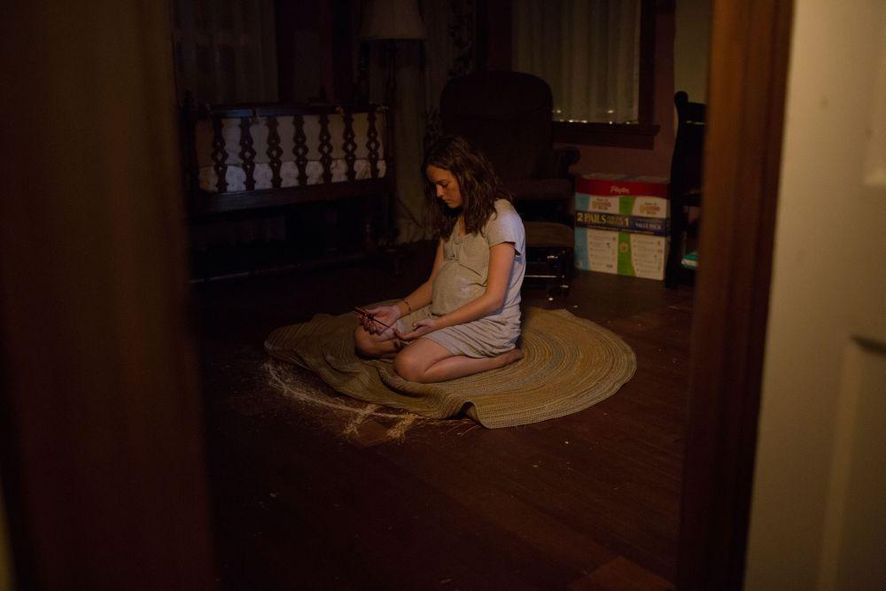 La stirpe del male: Allison Miller in un'inquietante scena