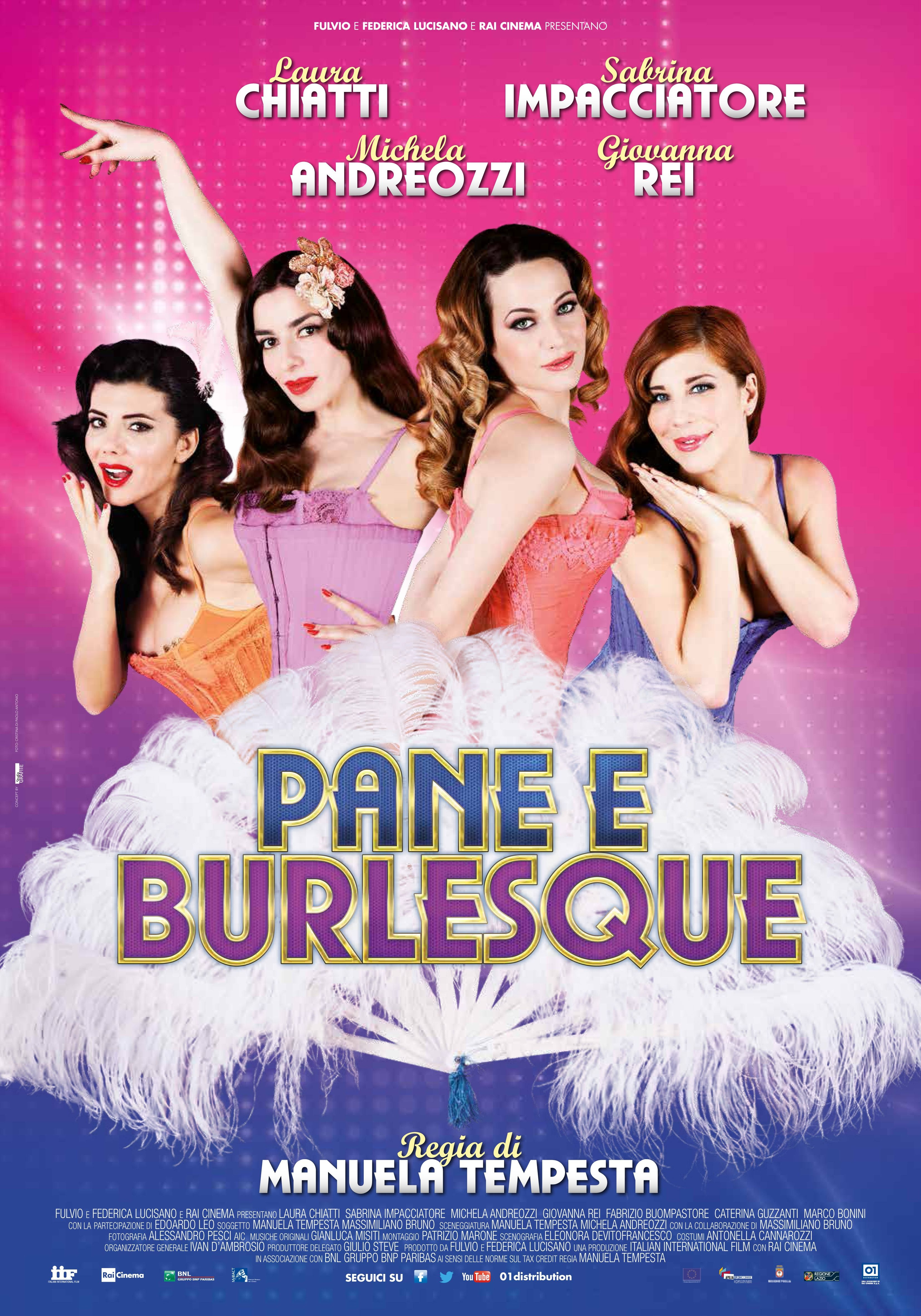 Pane e burlesque: la locandina italiana