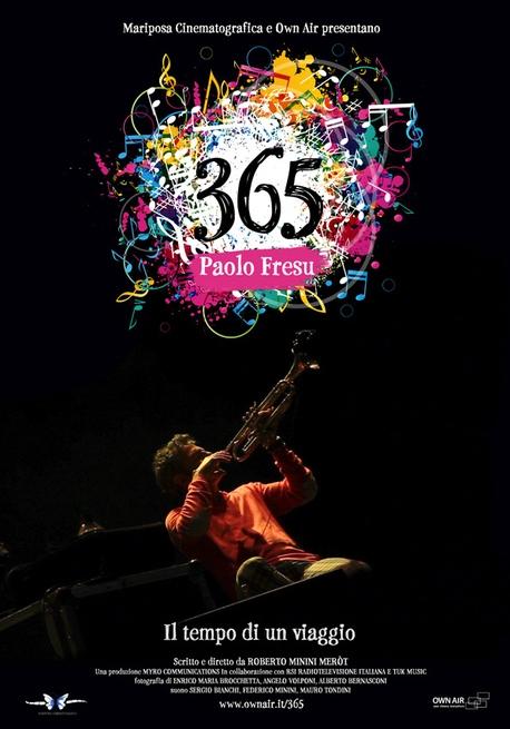 365 - Paolo Fresu, il tempo di un viaggio: la locandina del film