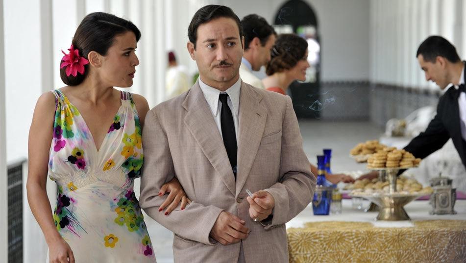Adriana Ugarte in una scena della prima stagione de Il tempo del coraggio e dell'amore