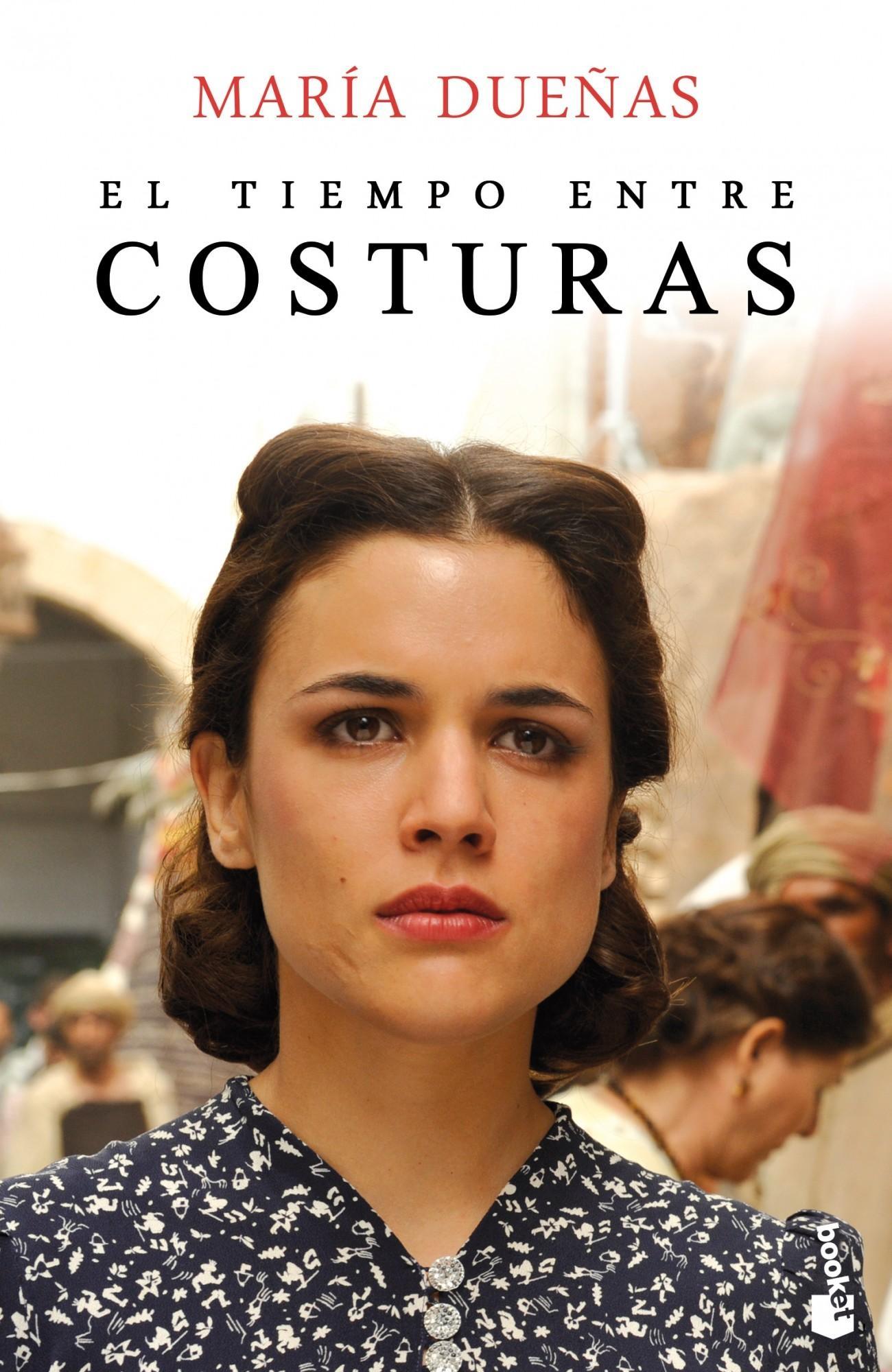 Il tempo del coraggio e dell'amore: Adriana Ugarte nella locandina della serie