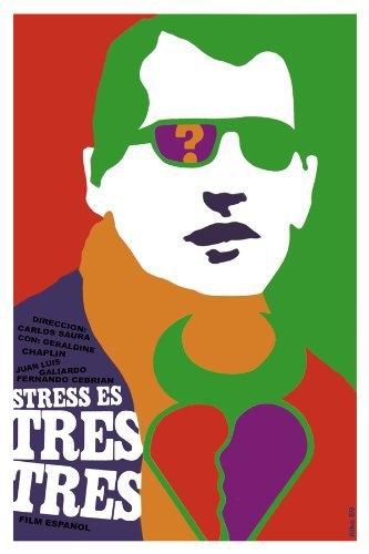 La locandina di Lo stress è tre, Tre