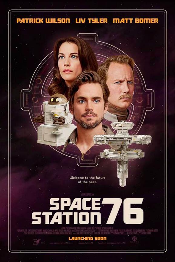 La locandina di Space Station 76