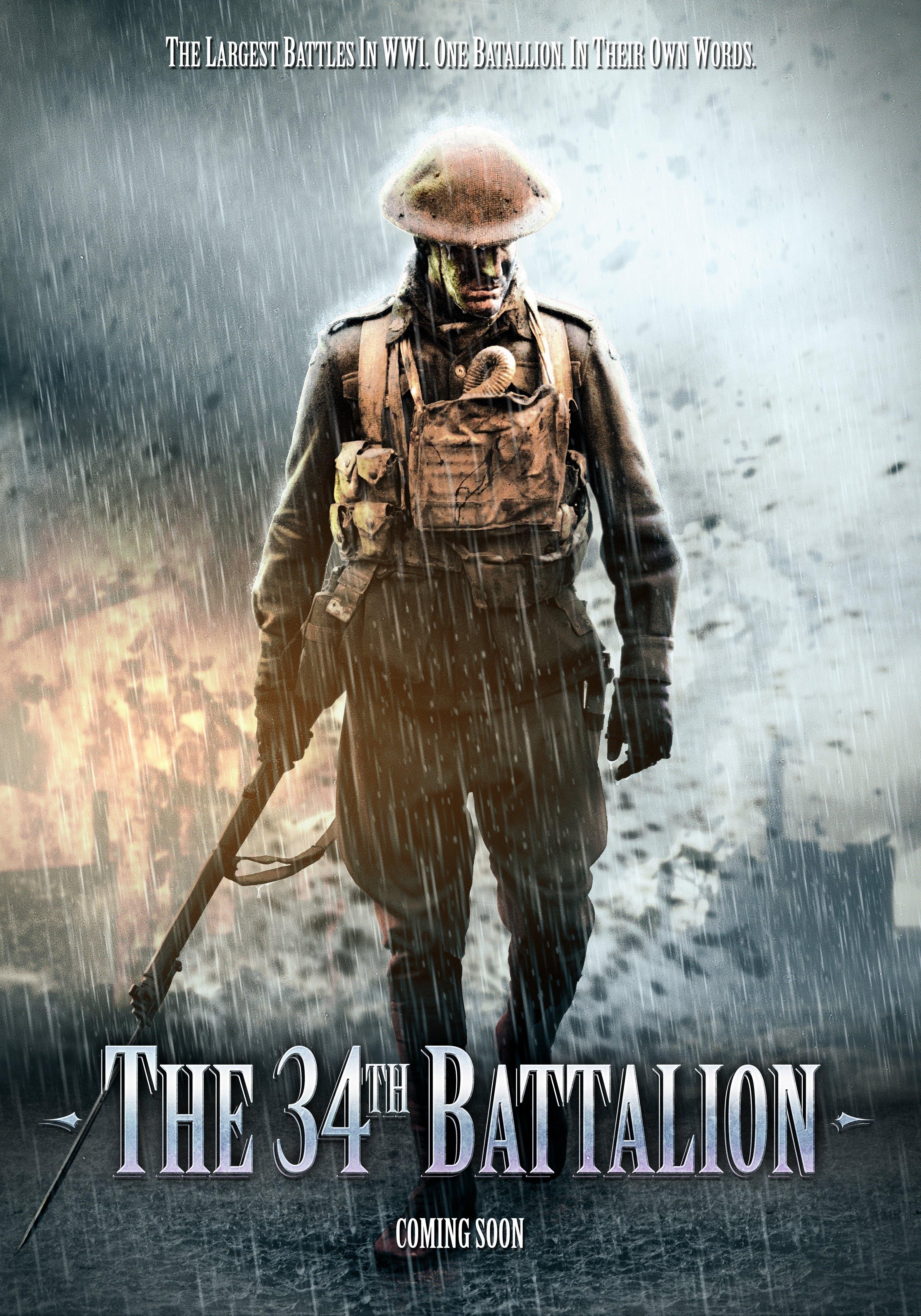 La locandina di The 34th Battalion