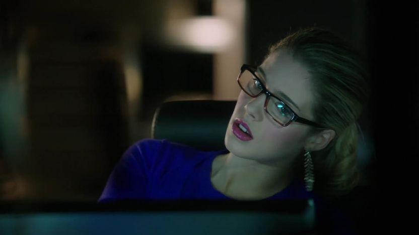 Arrow: Emily Bett Rickards nell'episodio L'ultima vittima, prima stagione