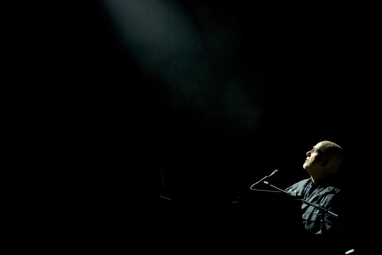 Back To Front - Peter Gabriel Live in London: un'immagine di Peter Gabriel durante lo storico concerto di Londra