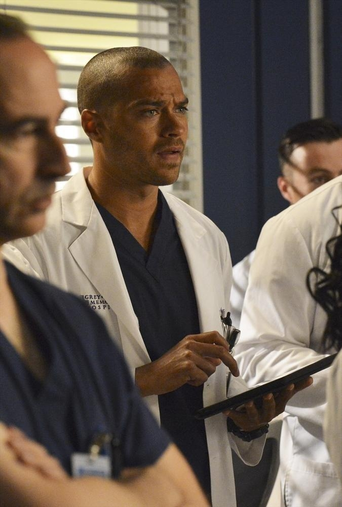 Grey's Anatomy:  Jesse Williams nell'episodio We Are Never Getting Back Together