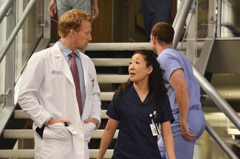 Grey's Anatomy: Kevin McKidd e Sandra Oh nell'episodio We Are Never Getting Back Together