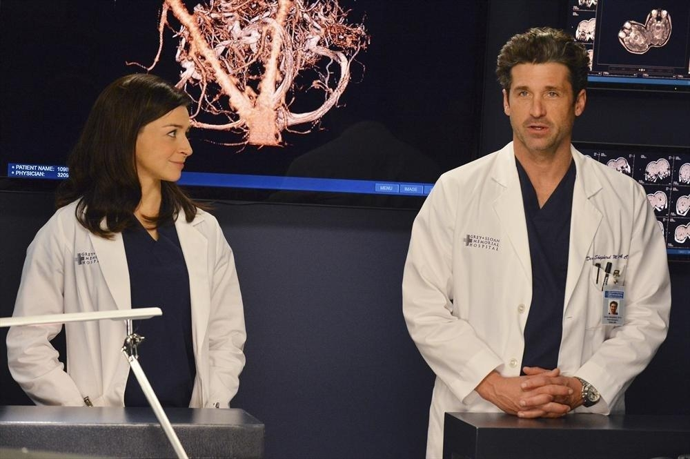 Grey's Anatomy: Patrick Demspey e Caterina Scorsone nell'episodio We Are Never Getting Back Together